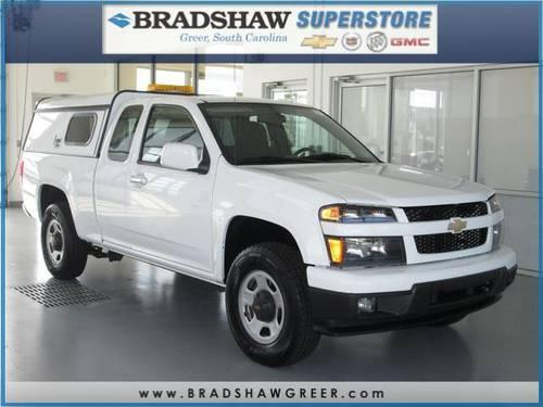 2010 Chevrolet Colorado 4D Extended Cab Work Truck