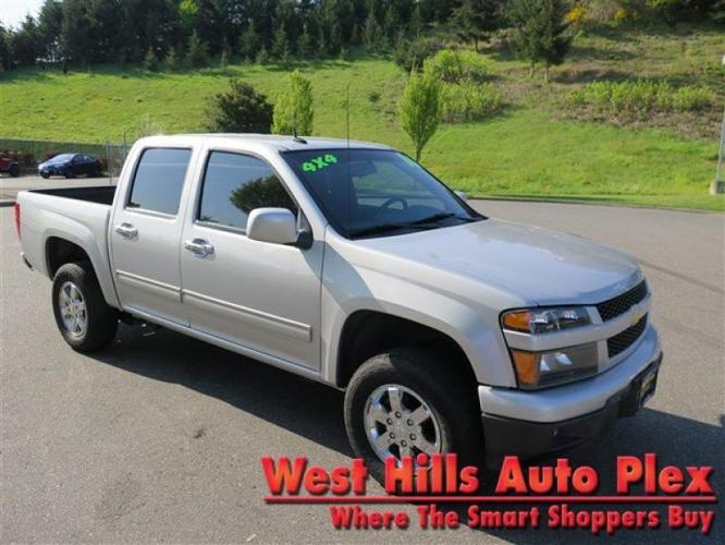 2010 chevrolet colorado 4x4 lt 4dr crew cab w 1lt for sale in bremerton washington classified. Black Bedroom Furniture Sets. Home Design Ideas