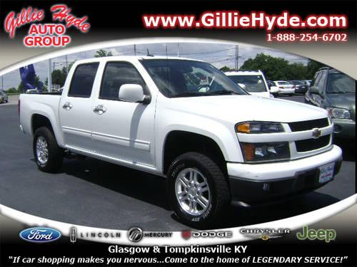 Gillie Hyde Glasgow Ky >> 2010 Chevrolet Colorado Crew Cab 4X4 LT for Sale in Dry ...