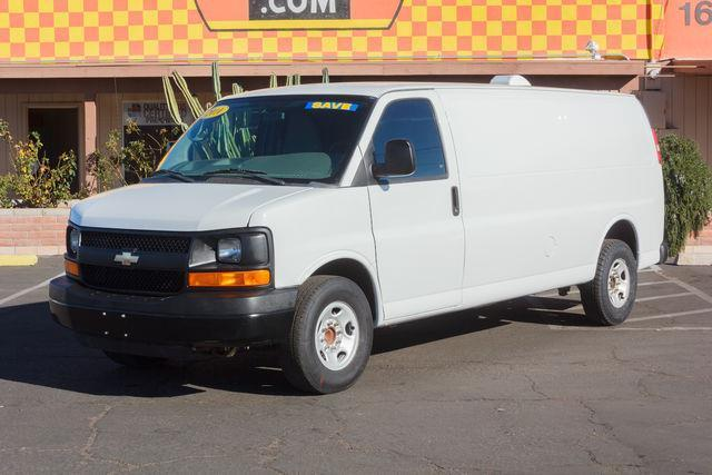 2010 chevrolet express cargo 3500 3500 3dr extended cargo van w 1wt for sale in tucson arizona. Black Bedroom Furniture Sets. Home Design Ideas