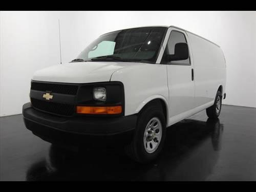 2010 chevrolet express cargo cargo van awd 1500 for sale. Black Bedroom Furniture Sets. Home Design Ideas