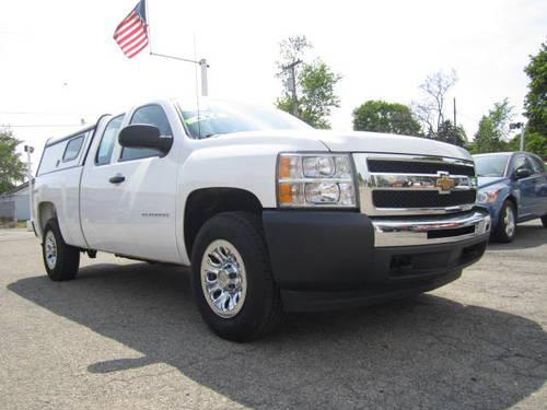 2010 Chevrolet Silverado 1500 4X4 Work Truck with LT