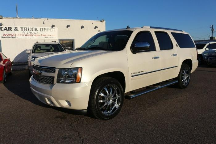 2010 chevrolet suburban 1500 ltz rare diamond edition 75th anniversary for sale in phoenix. Black Bedroom Furniture Sets. Home Design Ideas