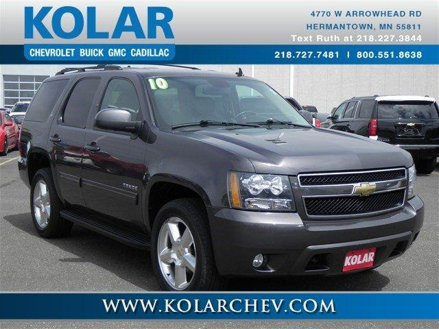 2010 chevrolet tahoe 4x4 lt 4dr suv for sale in duluth minnesota classified. Black Bedroom Furniture Sets. Home Design Ideas
