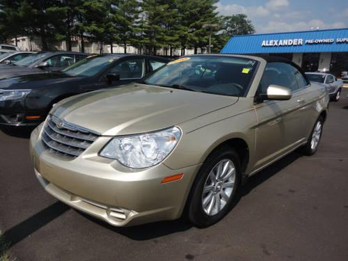 2010 chrysler sebring convertible touring for sale in franklin tennessee classified
