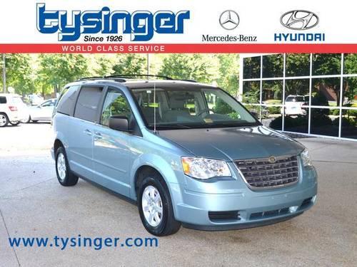 2010 chrysler town country 4d passenger van lx for sale for Tysinger motors used cars