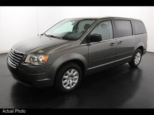 2010 chrysler town and country mini van lx for sale in sparta michigan classified. Black Bedroom Furniture Sets. Home Design Ideas