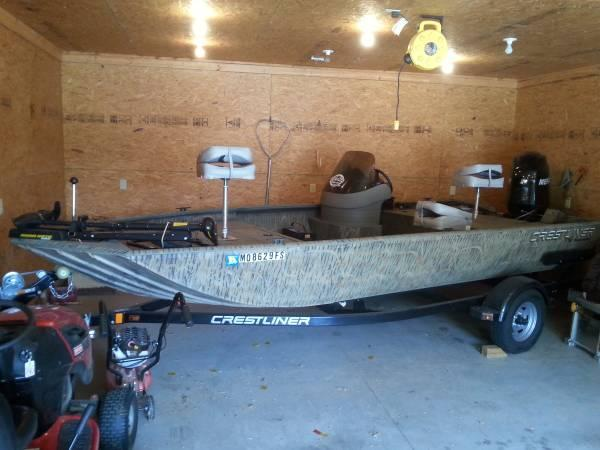 2010 Crestliner 1760 Sc Backwater In Springfield Mo For