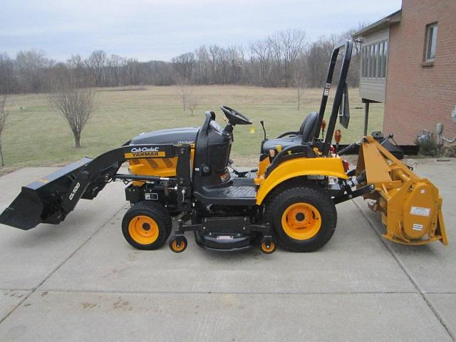 4x4 Cub Cadet Garden Tractors : Cub cadet yanmar sc loader mower tiller for