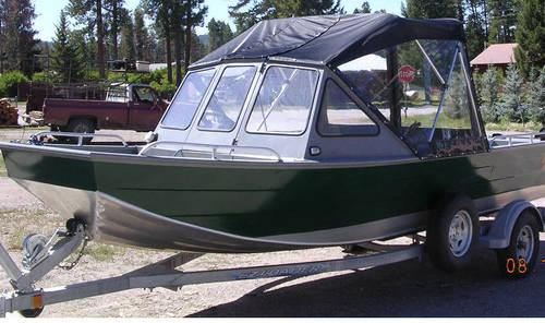 2010 Custom Welded Aluminum Inboard Jet Boat 143hp Turbo