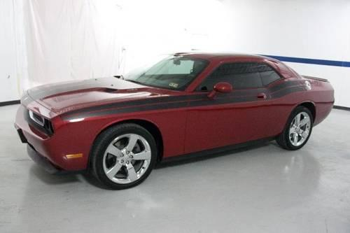 2010 dodge challenger coupe 2dr cpe r t classic red alloys auto low for sale in austin texas. Black Bedroom Furniture Sets. Home Design Ideas