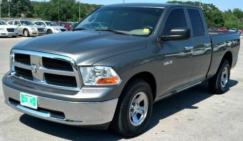 2010 dodge ram 1500 pickup truck 2wd quad cab 140 5 st for sale in ardmore oklahoma classified. Black Bedroom Furniture Sets. Home Design Ideas