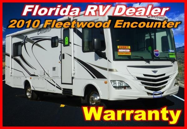 2010 fleetwood encounter 28 ms for sale in port charlotte florida classified. Black Bedroom Furniture Sets. Home Design Ideas