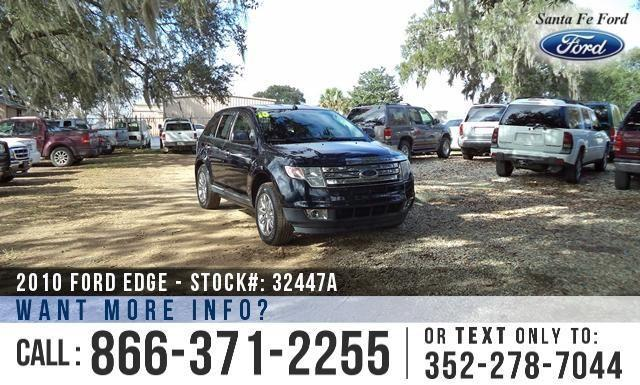 2010 Ford Edge Limited - Tinted Windows - Sirius SAT