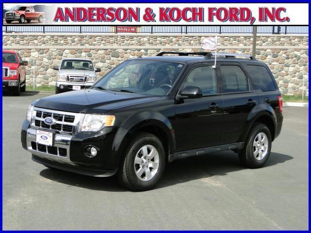 2010 ford escape limited for sale in north branch minnesota classified. Black Bedroom Furniture Sets. Home Design Ideas