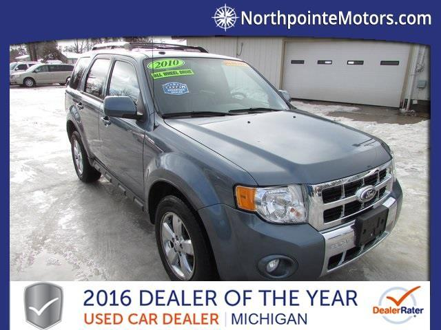2010 ford escape limited awd limited 4dr suv for sale in for Traverse city motors used cars