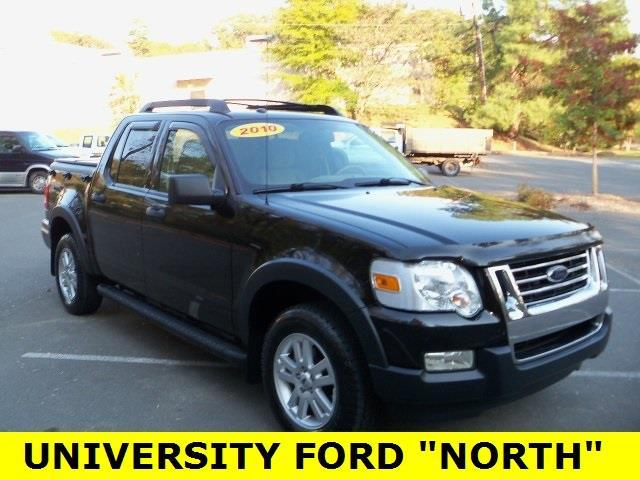 2010 ford explorer sport trac xlt 4x4 xlt 4dr crew cab for sale in durham north carolina. Black Bedroom Furniture Sets. Home Design Ideas
