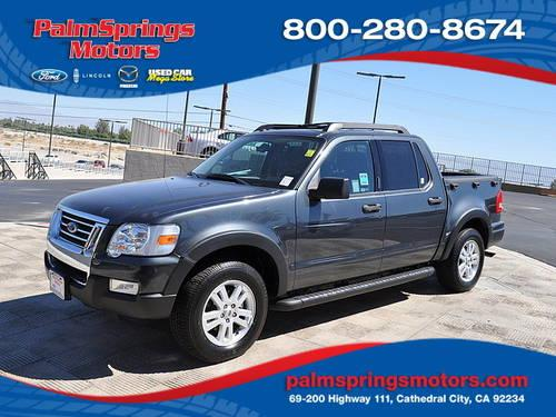 2010 ford explorer sport trac xlt sport utility pickup 4d for sale in cathedral city california. Black Bedroom Furniture Sets. Home Design Ideas