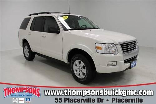 2010 ford explorer sport utility xlt 4wd for sale in bucks bar california classified. Black Bedroom Furniture Sets. Home Design Ideas