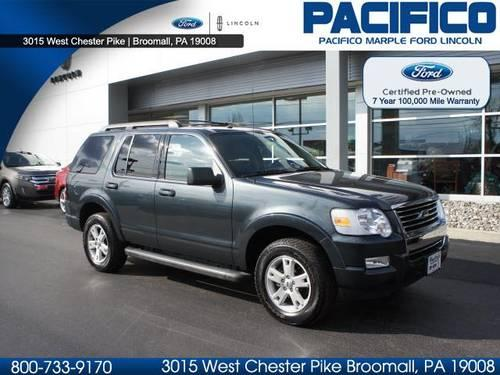 2010 ford explorer suv 4x4 xlt for sale in broomall pennsylvania classified. Black Bedroom Furniture Sets. Home Design Ideas