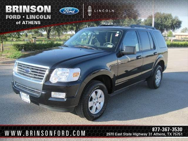 2010 ford explorer xlt for sale in athens texas classified. Black Bedroom Furniture Sets. Home Design Ideas
