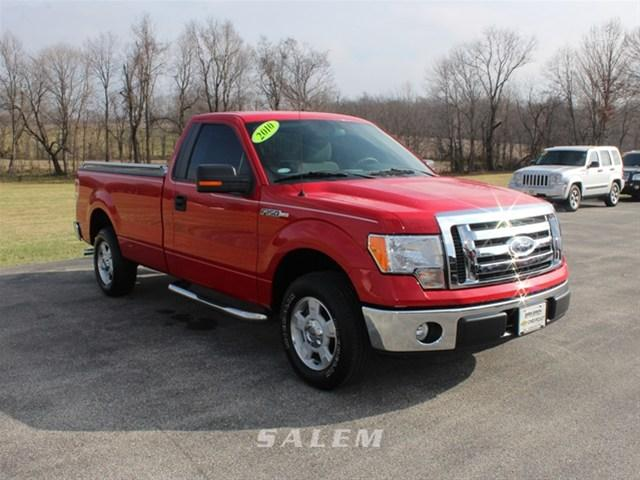 2010 ford f 150 4x2 xl 2dr regular cab styleside 8 ft lb for sale in salem indiana classified. Black Bedroom Furniture Sets. Home Design Ideas