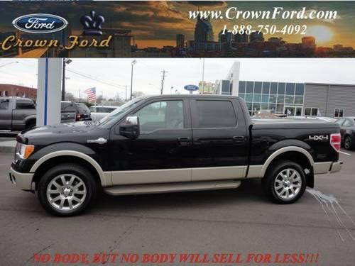 Crown Ford Nashville Tn >> 2010 Ford F-150 Crew Cab Pickup King Ranch for Sale in ...