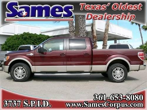 2010 Ford F-150 Crew Cab Pickup King Ranch SuperCrew Long ...