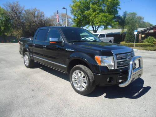 2010 ford f 150 crew cab platinum 4x4 for sale in seffner florida classified. Black Bedroom Furniture Sets. Home Design Ideas