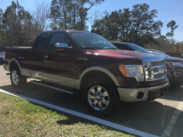 2010 ford f 150 lariat 4x4 lariat 4dr supercab styleside 6 5 ft sb for sale in palm coast. Black Bedroom Furniture Sets. Home Design Ideas