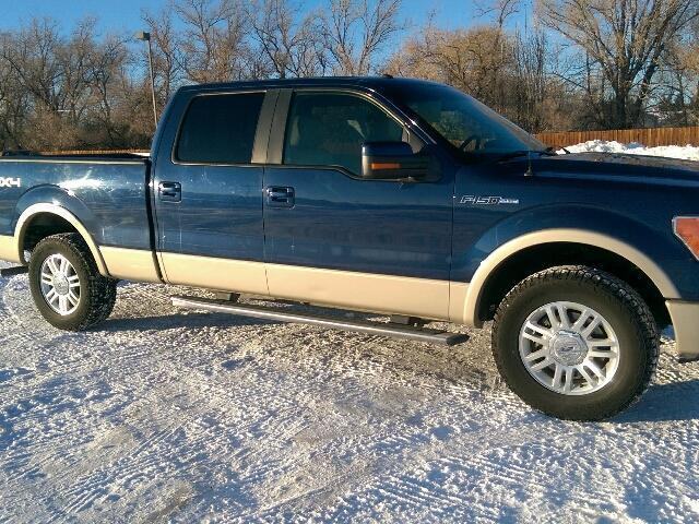 2010 ford f 150 lariat 4x4 lariat 4dr supercrew styleside 5 5 ft sb for sale in cody wyoming. Black Bedroom Furniture Sets. Home Design Ideas
