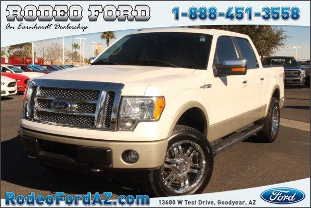 2010 ford f 150 lariat 4x4 lariat 4dr supercrew styleside 5 5 ft sb for sale in goodyear. Black Bedroom Furniture Sets. Home Design Ideas