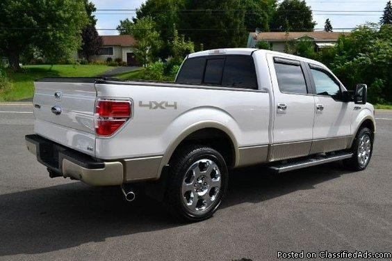 2010 ford f 150 lariat supercrew 4wd for sale in ravena new york classified. Black Bedroom Furniture Sets. Home Design Ideas