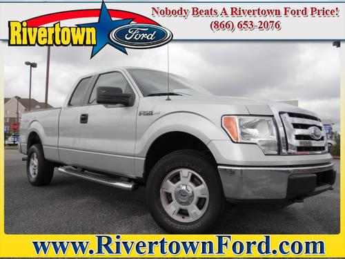 2010 ford f 150 pickup truck 4wd supercab 145 xlt for sale in columbus georgia classified. Black Bedroom Furniture Sets. Home Design Ideas