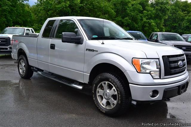 2010 ford f 150 39 stx 39 4x4 supercab 1 owner clean car fax rhinebeck for sale in rhinebeck. Black Bedroom Furniture Sets. Home Design Ideas