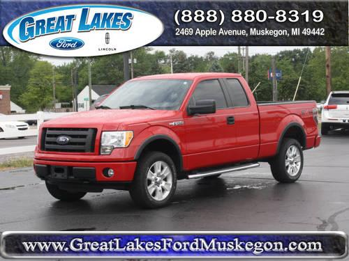 2010 ford f 150 super cab pickup 4x4 fx4 for sale in meskegon michigan classified. Black Bedroom Furniture Sets. Home Design Ideas