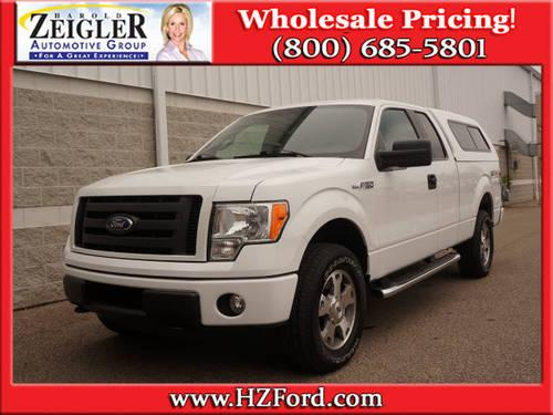 2010 ford f 150 super cab pickup 4x4 sxt ext cab 4x4 5 000 actual for sale in plainwell. Black Bedroom Furniture Sets. Home Design Ideas