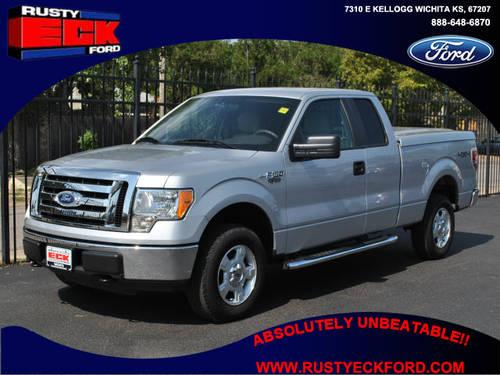 2010 ford f 150 super cab pickup 4x4 xlt for sale in wichita kansas classified. Black Bedroom Furniture Sets. Home Design Ideas