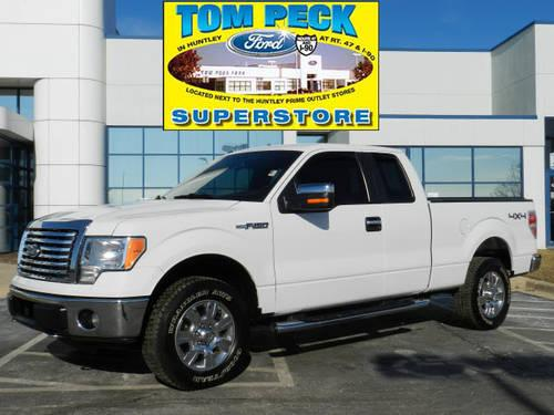 2010 ford f 150 super cab pickup 4x4 xlt extended cab 4x4 for sale in huntley illinois. Black Bedroom Furniture Sets. Home Design Ideas