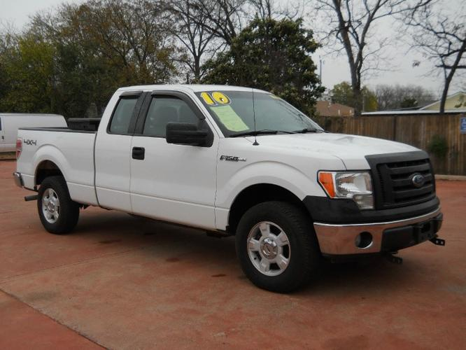 2010 ford f 150 supercab xl 4x4 one owner like new price reduced to for sale in san. Black Bedroom Furniture Sets. Home Design Ideas