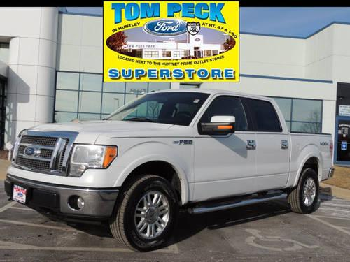 2010 ford f 150 supercrew 4x4 lariat crewcab 4x4 for sale in huntley illinois classified. Black Bedroom Furniture Sets. Home Design Ideas