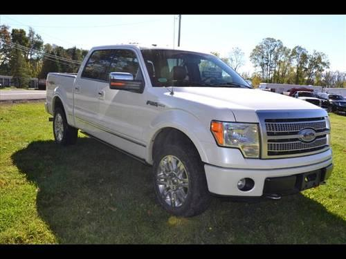 2010 ford f 150 supercrew 4x4 platinum for sale in rhinebeck new york classified. Black Bedroom Furniture Sets. Home Design Ideas