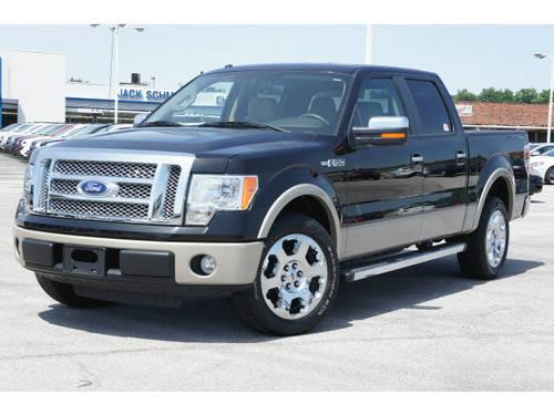 2010 ford f 150 supercrew lariat for sale in wood river illinois classified. Black Bedroom Furniture Sets. Home Design Ideas