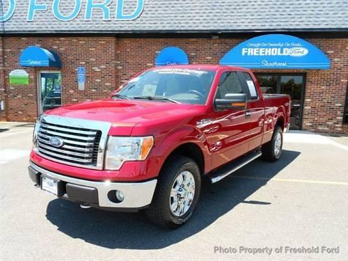 2010 ford f 150 truck 4wd supercab 145 4x4 truck for sale. Black Bedroom Furniture Sets. Home Design Ideas