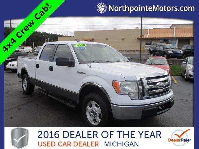 2010 ford f 150 xl 4x4 xl 4dr supercrew styleside 5 5 ft for North point motors traverse city