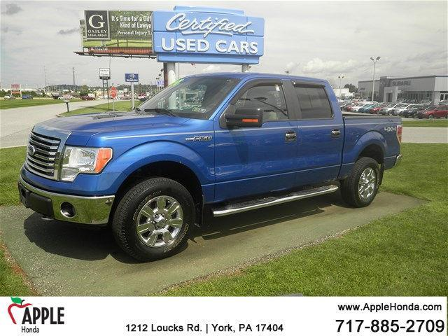 2010 ford f 150 xl 4x4 xl 4dr supercrew styleside 5 5 ft sb for sale in york pennsylvania. Black Bedroom Furniture Sets. Home Design Ideas