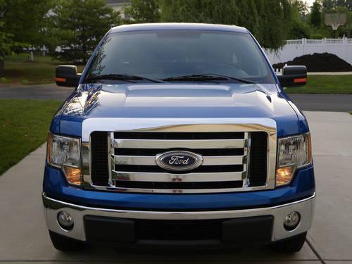 2010 ford f 150 xlt flame blue 25k mi regular cab for sale in raleigh north carolina. Black Bedroom Furniture Sets. Home Design Ideas