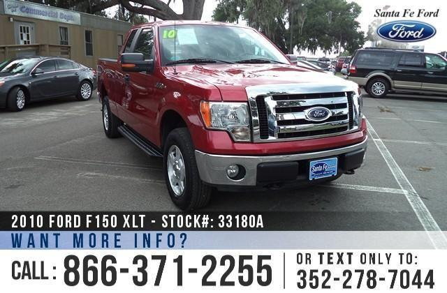 2010 Ford F-150 XLT - Warranty - V8 Engine