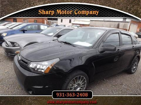 2010 ford focus 4 door sedan for sale in pulaski for Sharp motor company in pulaski tn