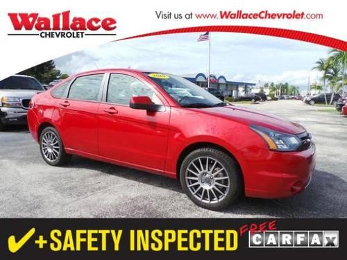 2010 FORD FOCUS SEDAN 4 DOOR 4dr Sdn SES